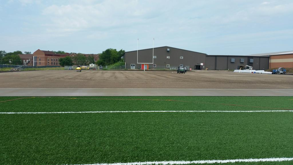 4th New Practice Field Photo