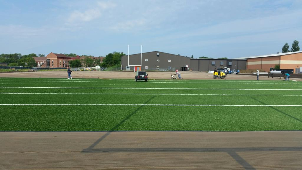 8th New Practice Field Photo