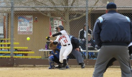 Rachel Ivelia (# 11 Sr. Snohomish, WA) has collected 33 hits and scored 27 runs for the Jimmies in 2013