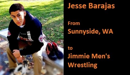Jesse Barajas (Sunnyside, WA) signed with the University of Jamestown to become a student-athlete, starting Fall 2014