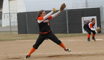 Brittany Rheault struck out 11 in the final game against Mayville