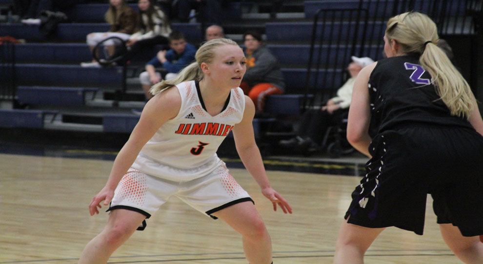 UJ's Bryn Woodside was named NSAA Defensive Player of the Year
