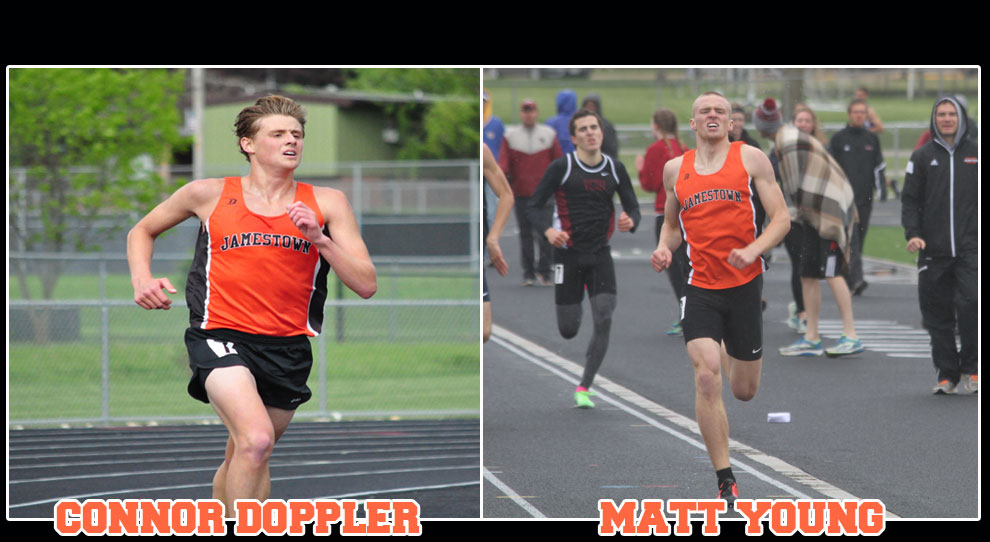 Photo for Connor Doppler and Matt Young compete in marathon at NAIA Nationals