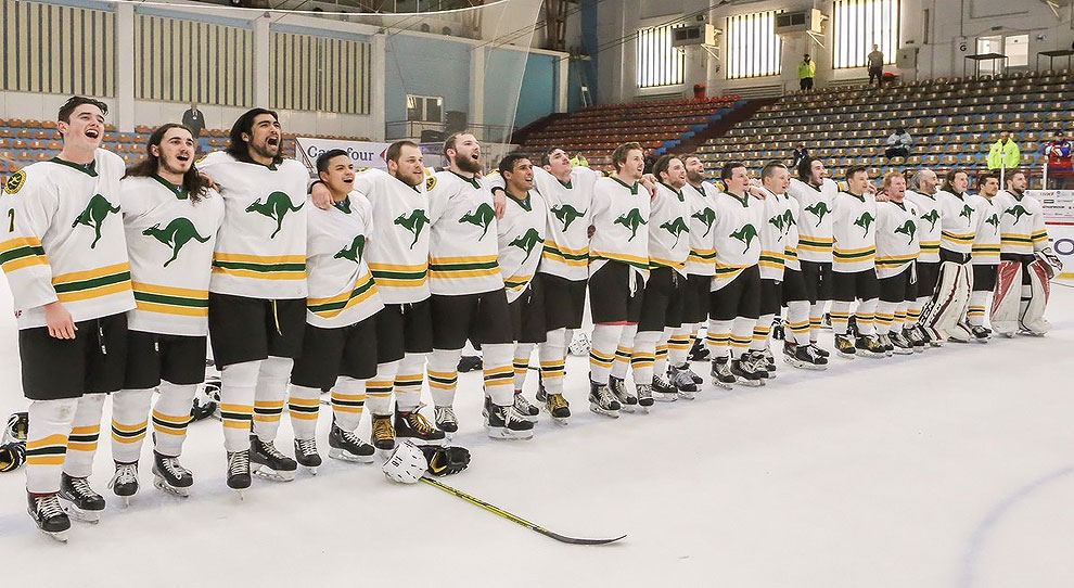 Photo for Cameron Todd helps Australia win silver at IIHF Worlds