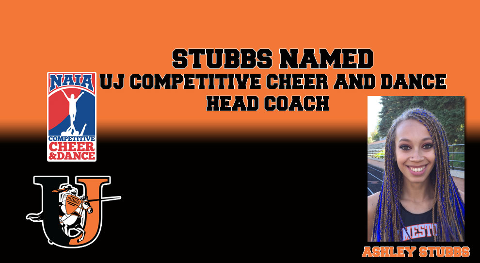 Photo for Ashley Stubbs named UJ Competitive Cheer and Dance Coach