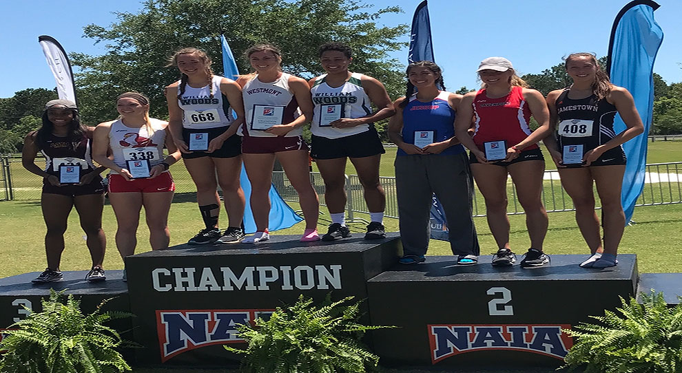 Photo for Arellano earns All-American honors in heptathlon