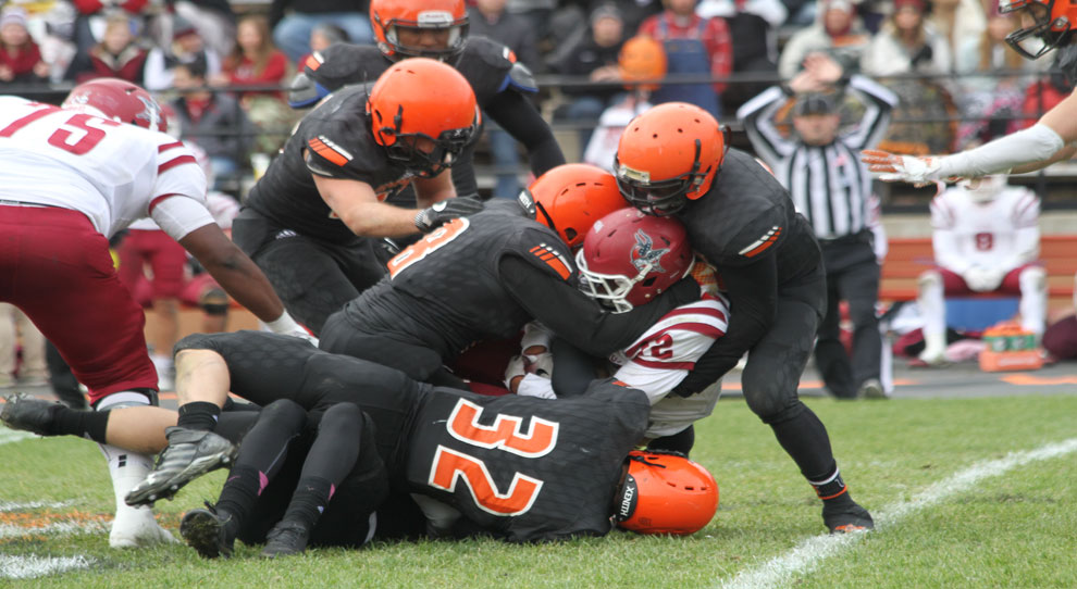 Photo for Jimmies force five turnovers in win