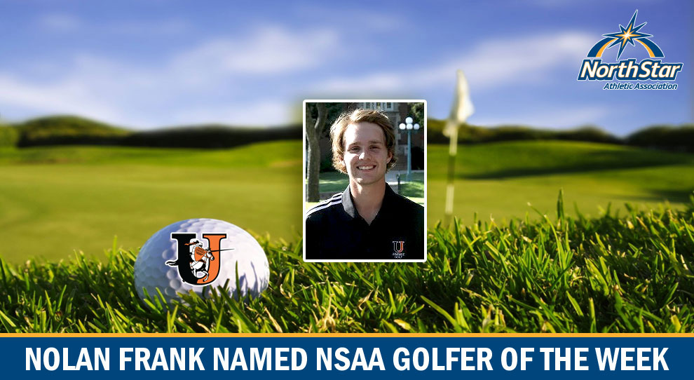 Photo for Frank named NSAA Men's Golfer of the Week