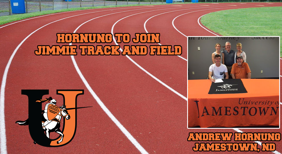 Photo for Andrew Hornung signs with University of Jamestown