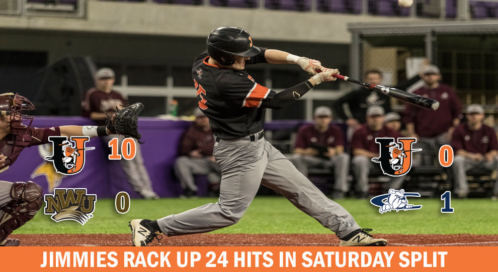 Photo for Hits keep coming for Jimmies in Saturday split