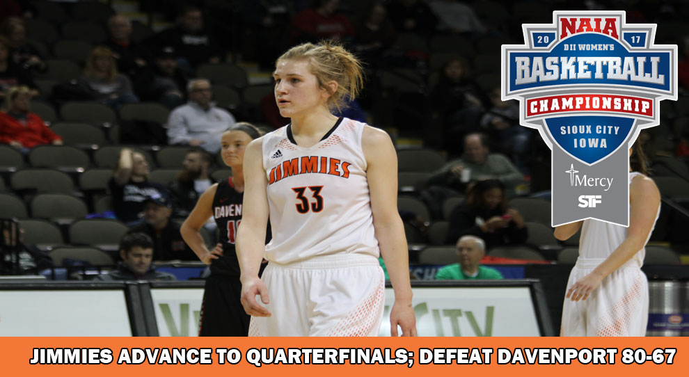Photo for Jimmies advance to quarterfinals with win over Davenport