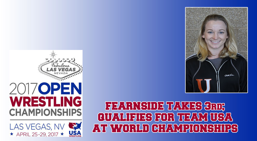 Photo for Amy Fearnside to represent US at World Championships