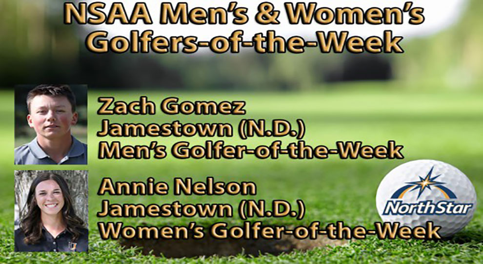 Photo for Zach Gomez and Annie Nelson named NSAA Golfers of the Week