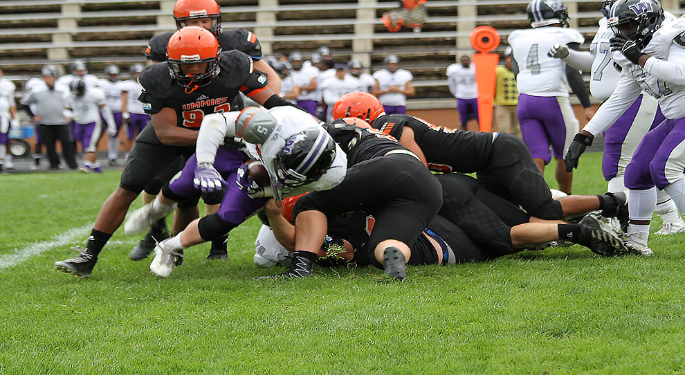 JAMESTOWN-- It's homecoming time at the University of Jamestown, as the  Jimmie football team hosts Dakota State (S.D.) University Saturday at  Rollie Greeno ...