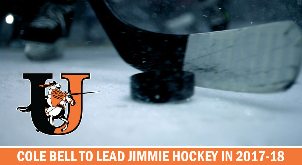 Photo for Cole Bell named new Jimmie hockey coach
