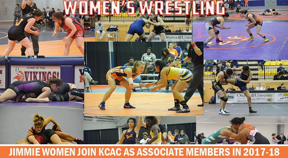 Photo for Jimmies join KCAC as associate members for women's wrestling