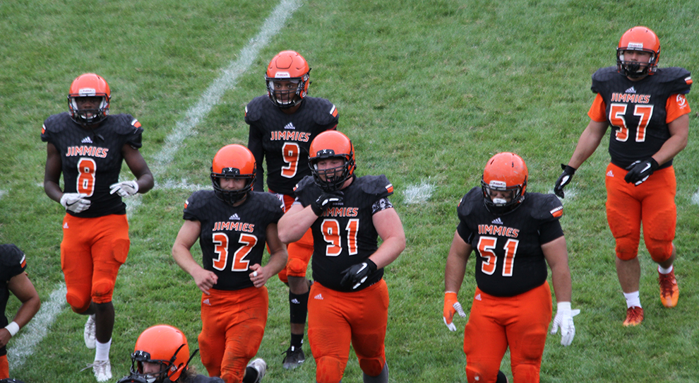 638a42a5529 University of Jamestown Athletics - Jimmies off to Doane for first ...